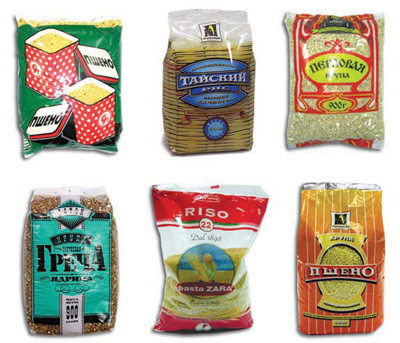 Bulk products packaging films